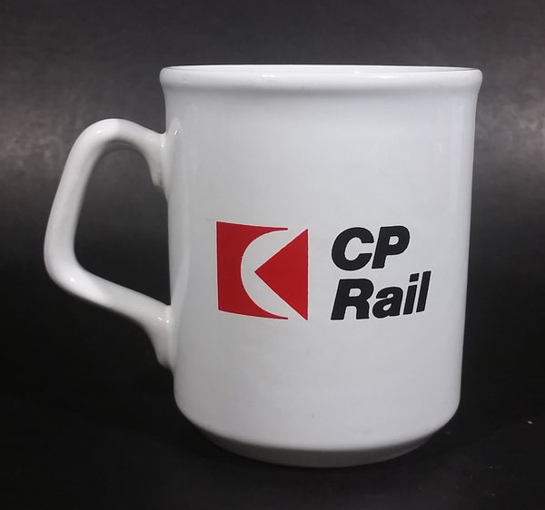 "Collectible CP Rail Canadian Pacific Railway ""Vancouver Division Office Automation Project"" Ceramic Coffee Mug - Treasure Valley Antiques & Collectibles"