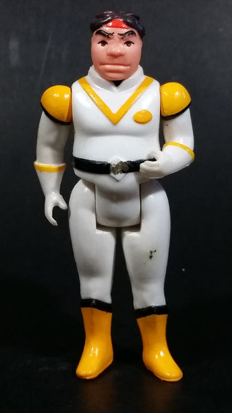 "Vintage 1984 W.E.P. Voltron Yellow Paladin Hunk Panosh 3 3/4"" Action Figure - Treasure Valley Antiques & Collectibles"