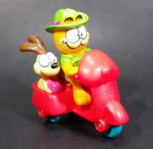 Vintage 1989 Garfield and Odie on a Motorbike Mixed McDonalds Happy Meal Toy - Treasure Valley Antiques & Collectibles