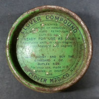 Vintage Clover Compound Double Sided Coarse Fine Tin from Clover Mfg Co. - Treasure Valley Antiques & Collectibles