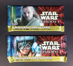 "2 Packs of 1999 Topps Star Wars ""Episode 1"" 8 Widevision Trading Cards In Package Never Opened - Treasure Valley Antiques & Collectibles"