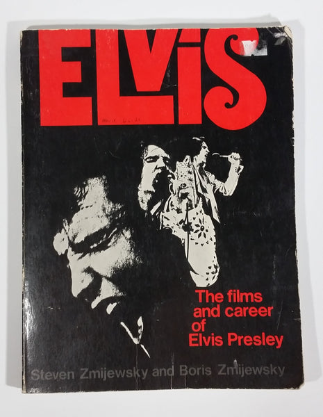1976 Elvis The Films and Career of Elvis Presley Paper Book - Steven Zmijewsky and Boris Zmijewsky - Treasure Valley Antiques & Collectibles