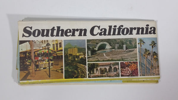 Vintage Southern California Visitors Council Road Map by The H.M. Gousha Company - Treasure Valley Antiques & Collectibles