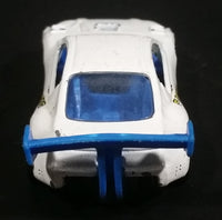 2000 Hot Wheels Pikes Peak Celica White Die Cast Toy Race Car Vehicle - Treasure Valley Antiques & Collectibles
