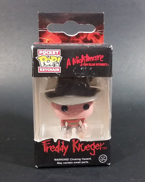 Funko Pop Pocket Keychain - Nightmare On Elm Street - Freddy Krueger Vinyl Figure - Horror Movies - Treasure Valley Antiques & Collectibles