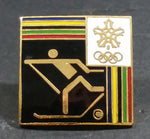 1972 Winter Olympics Saporro, Hokkaidō, Japan Cross-Country Skiing Collectible Sports Pin - Treasure Valley Antiques & Collectibles