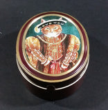 1990 Bentley's of London The Cat's Gallery Henry VIII Fruit Bon Bons Confectionery Tin Opened Still Full - Treasure Valley Antiques & Collectibles