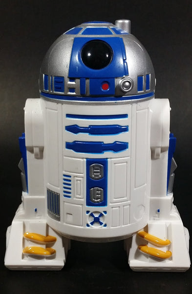 2013 Star Wars R2D2 Shaped Flashlight Toy - Lucas Films - 2 AAA Batteries - Treasure Valley Antiques & Collectibles