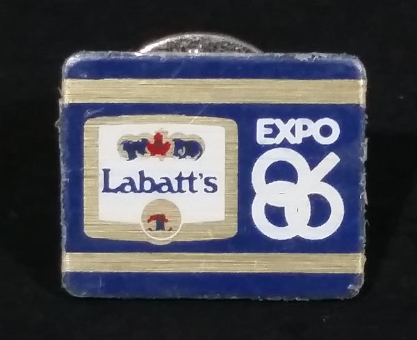 Vintage 1986 Labatt's Beer Expo 86 Small Collectible Souvenir Lapel Pin - Treasure Valley Antiques & Collectibles