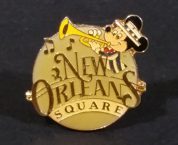 1985 Walt Disney Disneyland 30th Anniversary New Orleans Square Mickey Mouse Cartoon Character Lapel Pin - Treasure Valley Antiques & Collectibles