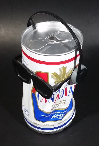 Vintage Takara Molson Canadian Lager Dancing Sound Activated Beer Can - Needs Repair