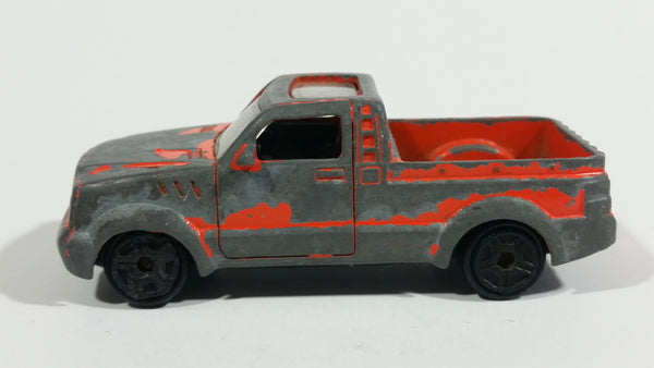 Motor Max 6073 Truck-A Orange with Sunroof Die Cast Toy Car Vehicle - Treasure Valley Antiques & Collectibles