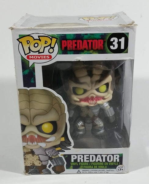 2013 Funko Pop! Movies Predator #31 Toy Collectible Vinyl Figure in Box - Treasure Valley Antiques & Collectibles