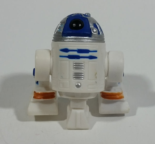 "2011 Hasbro LFL Star Wars R2D2 Robot Small 2"" Toy Figure Collectible - Treasure Valley Antiques & Collectibles"