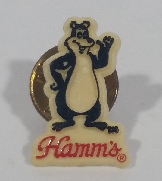 Vintage Hamm's Brewery Beer Bear Small Collectible Lapel Pin - Treasure Valley Antiques & Collectibles