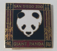 1987 1988 San Diego Zoo Giant Panda Exhibit Enamel Souvenir Pin Collectible - Treasure Valley Antiques & Collectibles