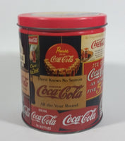 1994 Coca-Cola Coke Soda Pop Carriage Trade Mini Twist Pretzels Nostalgic Tin Beverage Advertising Collectible - Treasure Valley Antiques & Collectibles