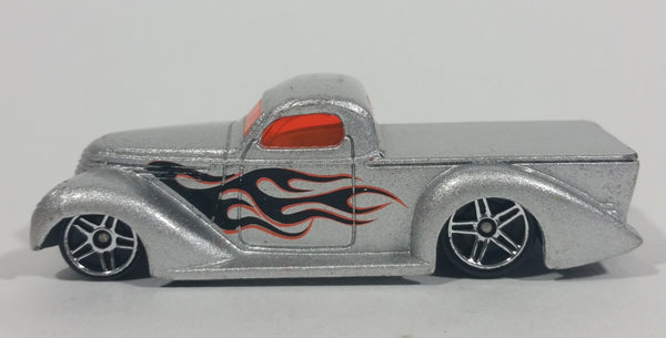 VHTF 2003 Hot Wheels Garage Super Smooth Truck Silver Die Cast Toy Low Rider Car Vehicle - Treasure Valley Antiques & Collectibles