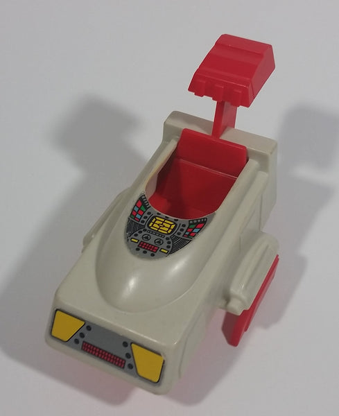 Rare Vintage Voltron Panosh Place Castle of Lions Shuttle Plastic Toy Vehicle - Partial broken footing - Treasure Valley Antiques & Collectibles
