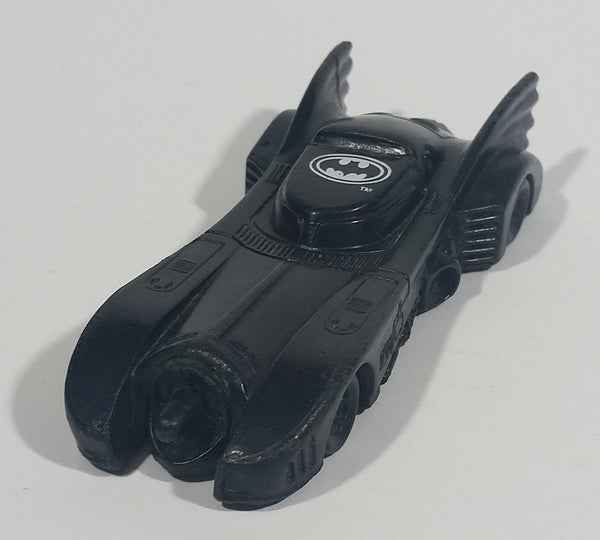 1991 Batman Returns Black Batmobile Candy Dispenser Plastic Toy Car Vehicle - Empty - Treasure Valley Antiques & Collectibles