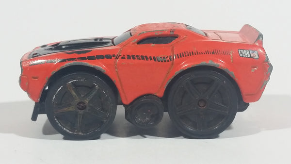 2004 Hot Wheels First Editions Blings '70 Barracuda Orange Die Cast Toy Car Vehicle