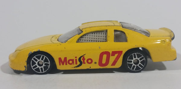 Maisto Chevrolet Monte Carlo # 07 Yellow Die Cast Toy Race Car Vehicle - Made in China - Treasure Valley Antiques & Collectibles