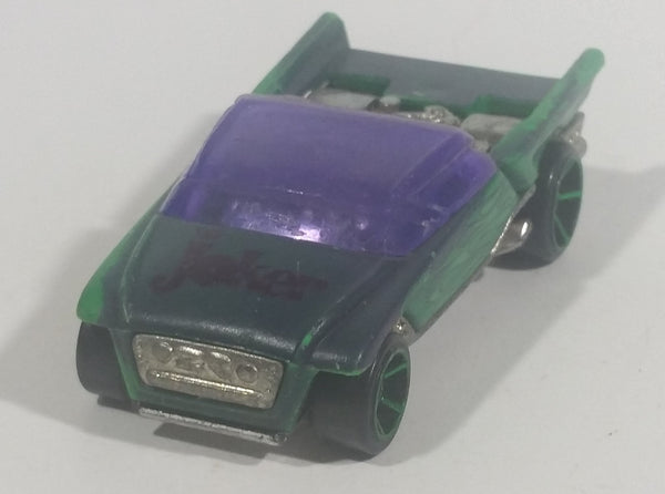 Rare 2012 Hot Wheels Color Shifters DC Comics Batman The Joker Jester Green Purple Die Cast Toy Car Vehicle - Treasure Valley Antiques & Collectibles