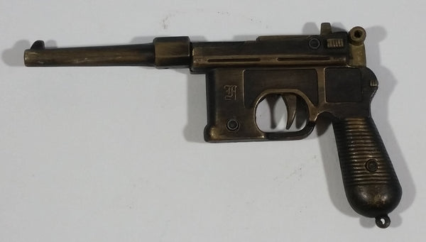 Very Rare Vintage German Mauser Army Military Toy Metal Cap Gun Collectible - Working - Treasure Valley Antiques & Collectibles