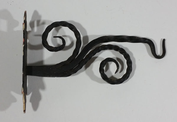 Decorative Ornate Wrought Iron Wall Holder Hanger Hook