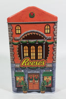 Collectible Reese's Peanut Butter Cups Reese's Pieces Orange Christmas Holiday Toy Store Themed Orange Chocolate Tin - Treasure Valley Antiques & Collectibles