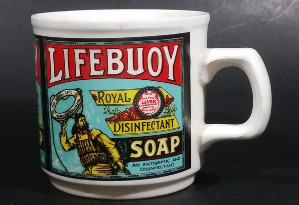 Rare Vintage Lifebuoy Lever Royal Disinfectant Soap Advertising Ceramic Coffee Mug Collectible Made in Ireland