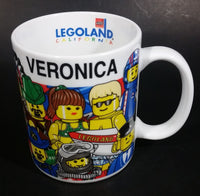 "1998 Legoland California ""Veronic"" Lego Toy Themed Ceramic Coffee Mug Collectible - Treasure Valley Antiques & Collectibles"