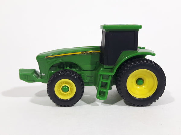 Ertl John Deere 4x4 Green and Yellow Farm Tractor Die Cast and Plastic Toy Farming Machinery Vehicle 10215YL01 - Treasure Valley Antiques & Collectibles