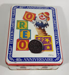 1989 Mr. Christie Oreo Cookies 40th Anniversary Limited Edition Jack In The Box Metal Tin Snacks Collectible - Treasure Valley Antiques & Collectibles