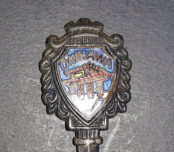 Vintage Okinawa, Japan Collectible Spoon - Treasure Valley Antiques & Collectibles