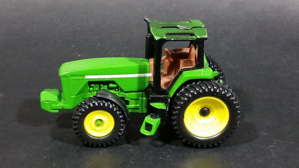 Ertl John Deere Green and Yellow Farm Tractor Die Cast and Plastic Toy Farming Machinery Vehicle G0512Q01 - Treasure Valley Antiques & Collectibles