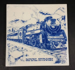 Canadian Pacific Railway CPR The Royal Hudson 2860 British Columbia Ceramic Tile Trivet - Treasure Valley Antiques & Collectibles