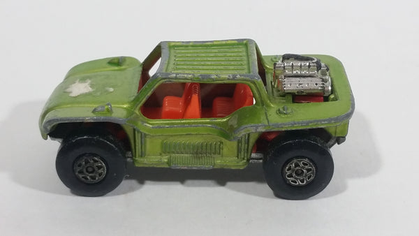 1971 Lesney Products Matchbox Lime Green Superfast No. 13 Baja Buggy Toy Car Vehicle - Treasure Valley Antiques & Collectibles