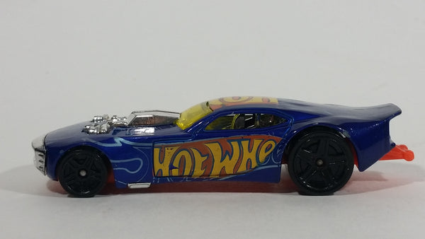 2013 Hot Wheels Thrill Racers Nitro Door Slammer Aston Martin Metalflake Blue Die Cast Toy Race Car