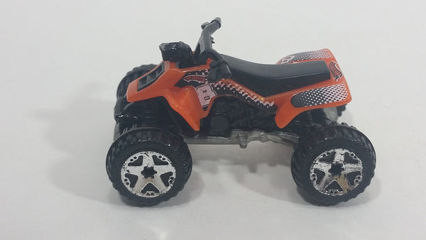 2006 Hot Wheels Wish List Suzuki Quadracer Orange Die Cast ATV Toy Car Vehicle