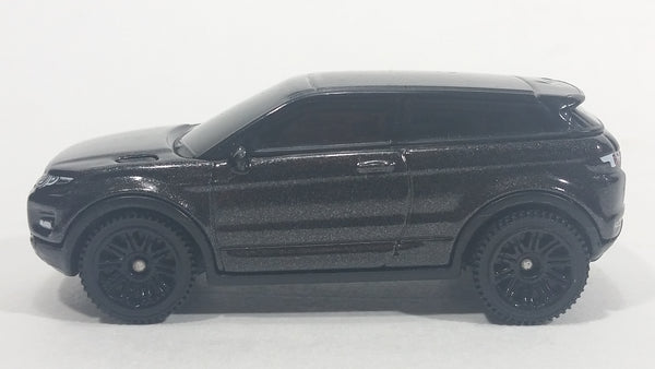 2017 Matchbox '15 Range Rover Evoque Black Die Cast SUV Toy Car Vehicle
