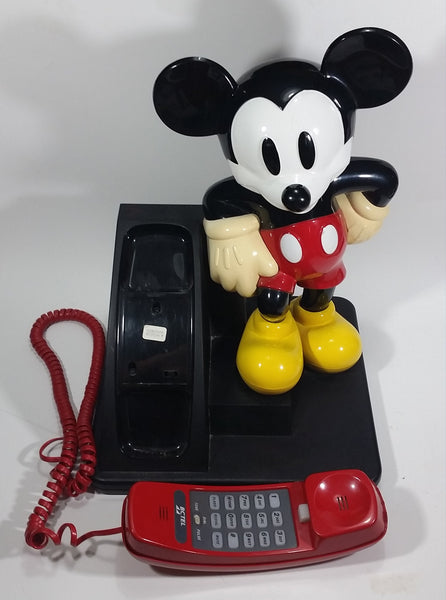 1990s Walt Disney Mickey Mouse Cartoon Character BCTel Landline Telephone Phone Collectible