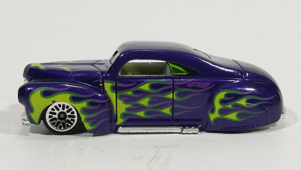 2011 Hot Wheels DC Comics Heat Fleet Green Lantern Tail Dragger Purple Die Cast Toy Car Vehicle - Treasure Valley Antiques & Collectibles