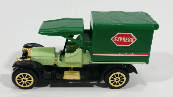 "Vintage Reader's Digest High Speed Corgi ""Express"" Transport Truck Green No. 504 Classic Die Cast Toy Antique Car Delivery Vehicle"