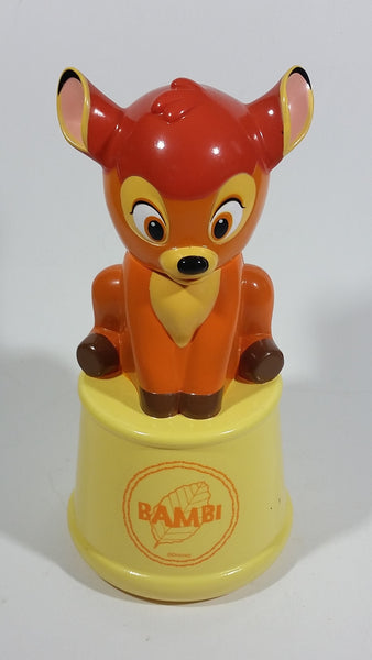 Walt Disney Bambi Cartoon Character Shaped Bubble Bath Coin Bank Bottle Sealed Never Opened - Treasure Valley Antiques & Collectibles