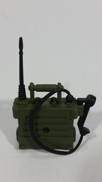 Action Figure Accessory Army Green Small Plastic Toy Military Field Phone