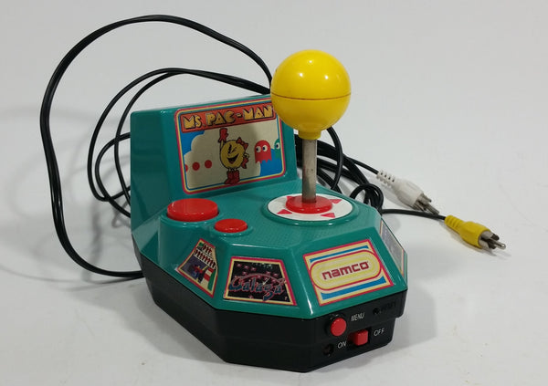 Namco 2004 Jakks Pacific Ms Pac-Man 5 in 1 Plug and Play TV Arcade Game - Treasure Valley Antiques & Collectibles