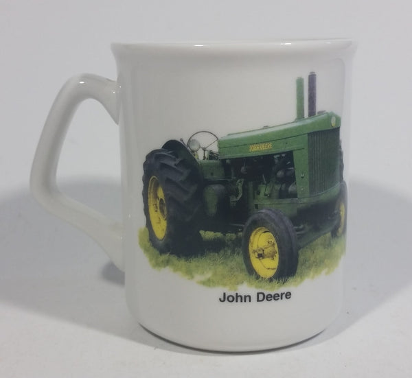 "John Deere Tractor ""Today is the tomorrow you worried about Yesterday!"" White Ceramic Coffee Mug Farming Collectible - Treasure Valley Antiques & Collectibles"