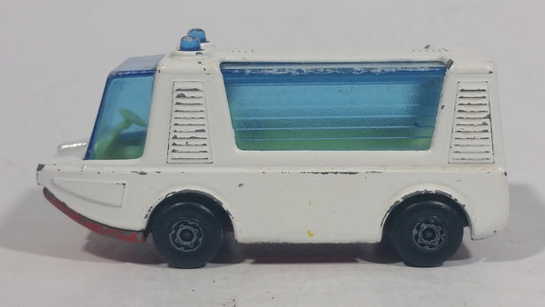 Vintage 1971 Lesney Products Matchbox Superfast Stretcha Fetcha Amphibious Ambulance Rescue White No. 46 Die Cast Toy Car Emergency Vehicle - Treasure Valley Antiques & Collectibles