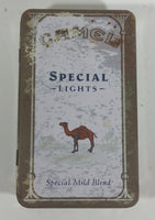 1993 Camel Special Lights Matches Cigarettes Smokes Hinged Tin Metal Container Tobacco Collectible - Treasure Valley Antiques & Collectibles